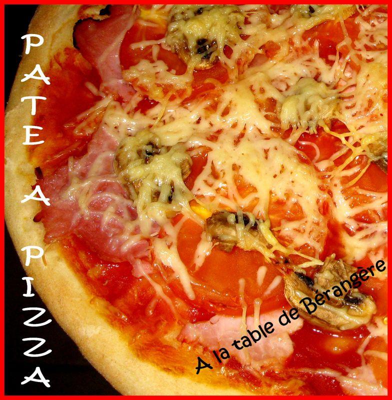 comment faire a pizza