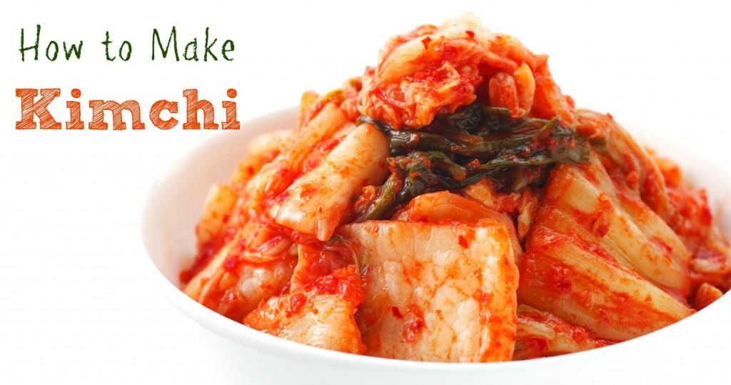 comment faire kimchi