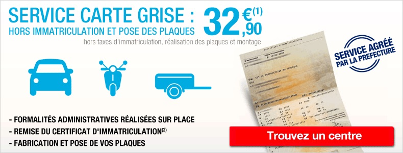 comment faire nouvelle carte grise