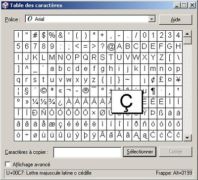 comment faire o en majuscule