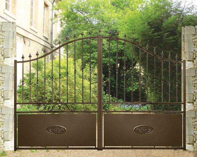 comment faire rouiller un portail en fer