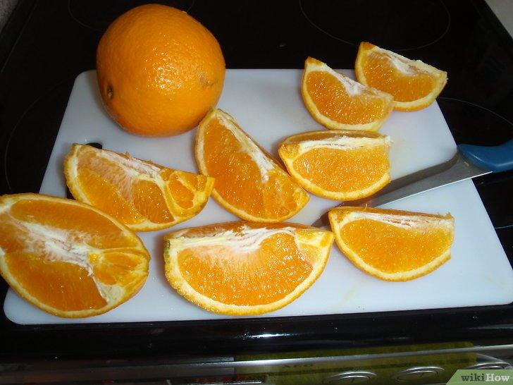 comment faire zeste orange confit