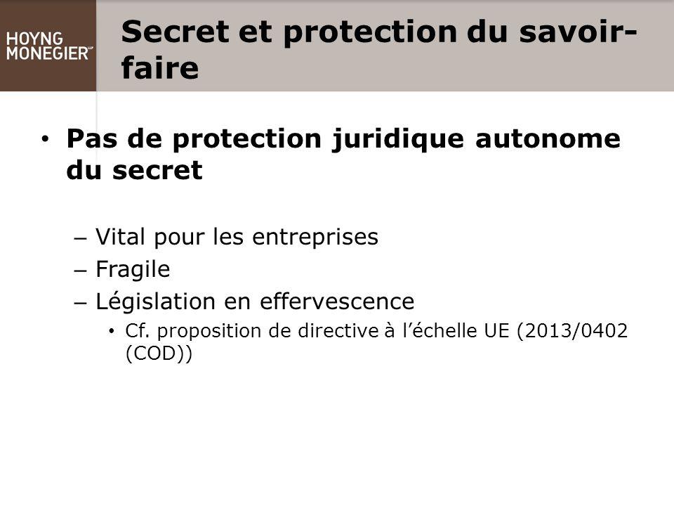 savoir faire protection juridique